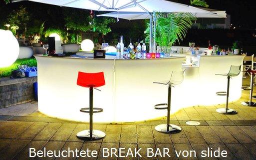 Beleuchtete Break Bar von slide