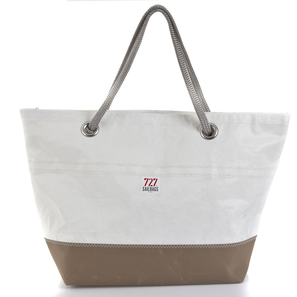 CARLA Tasche Light Brown No 8 grey Rückseite