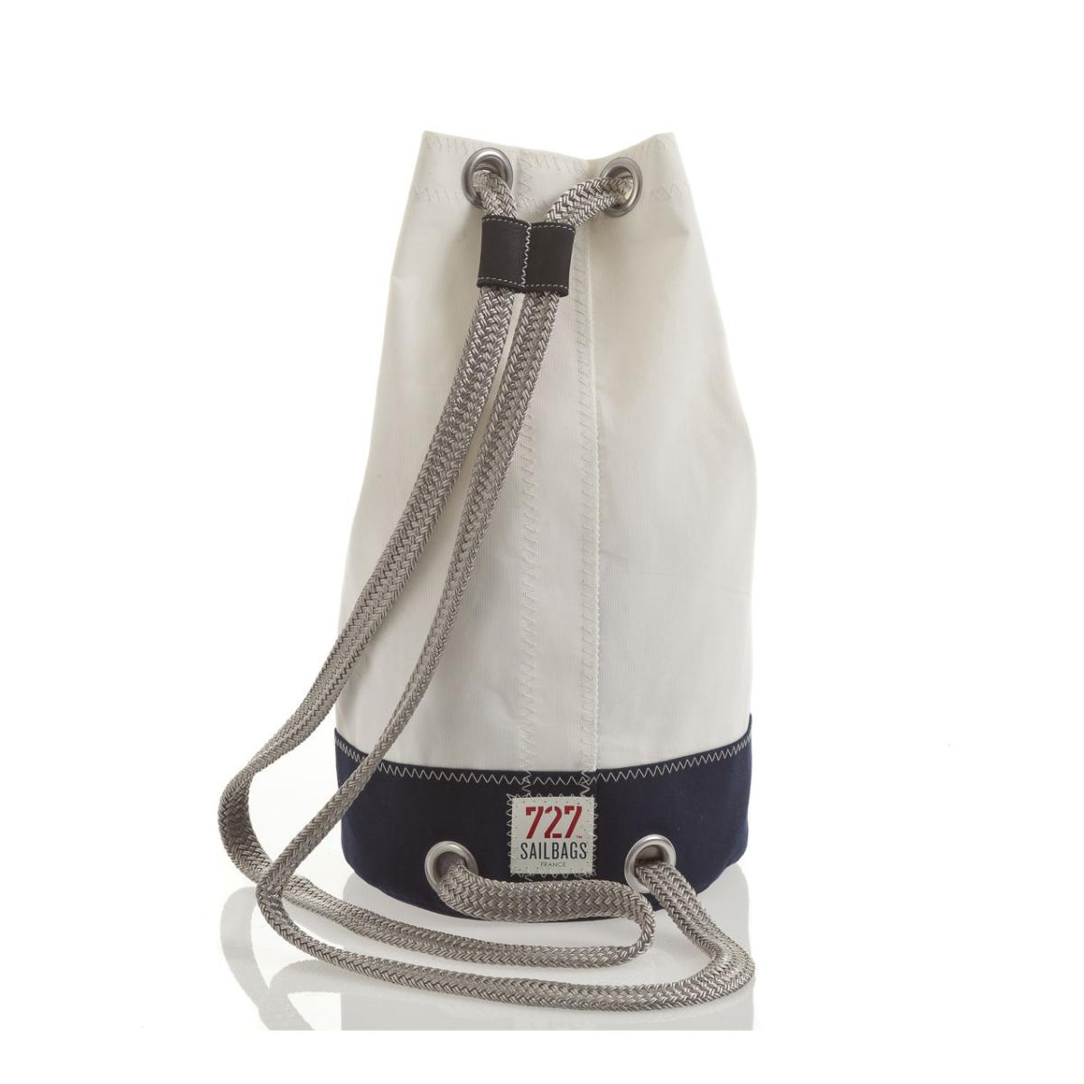 Jack Mini Tasche Dacron Blue Navy, No 8 Red, Rückseite