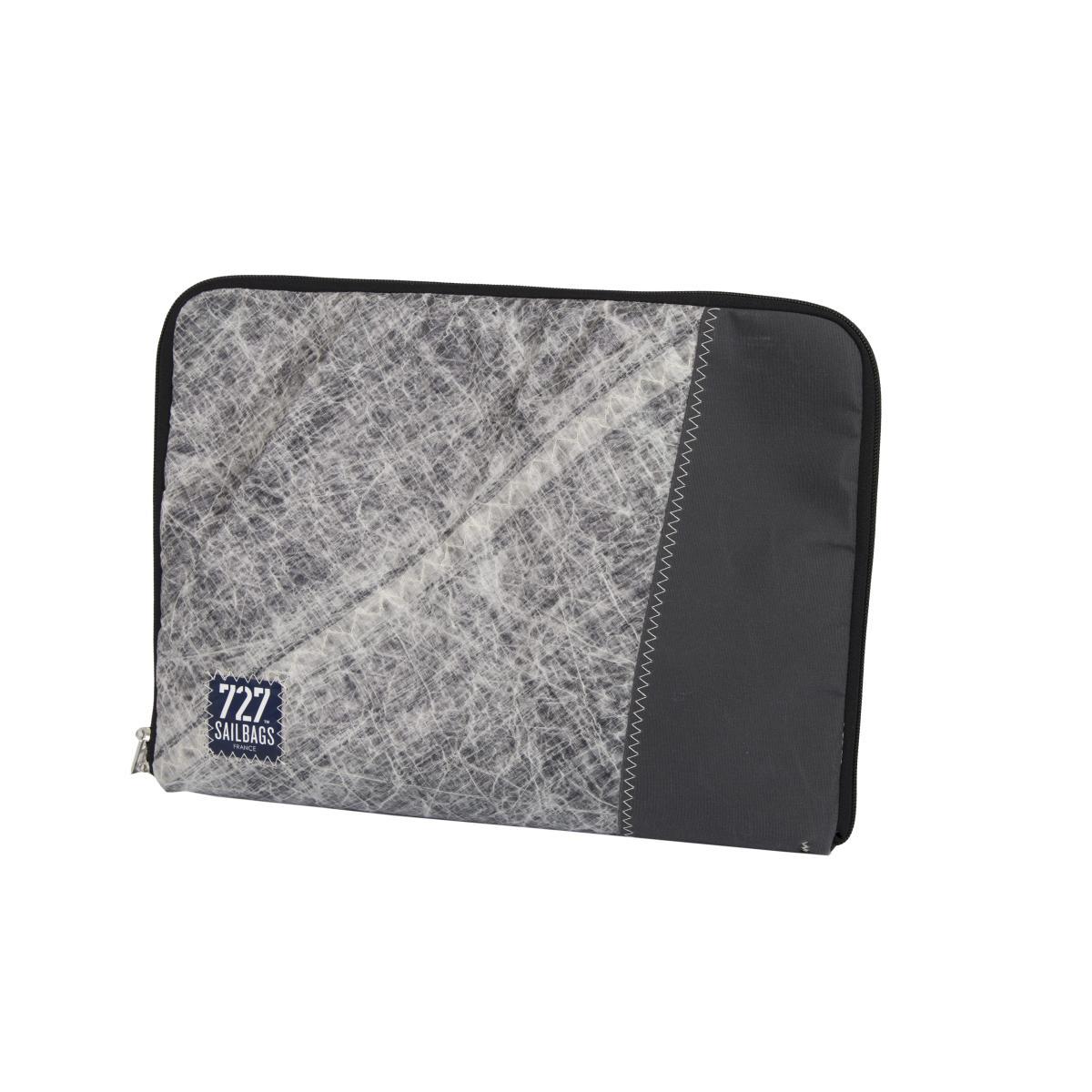 Harry Laptop Tasche / Sleeve TechSail, Nr. 5 blau, Rückseite