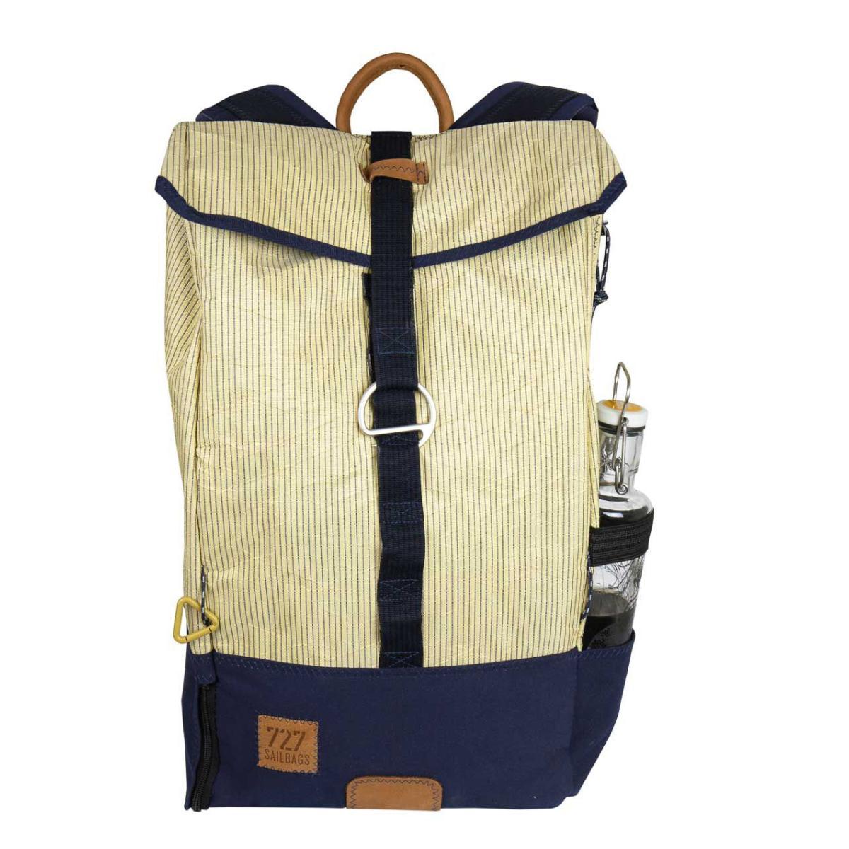 Dinghy Rucksack amber, mit Seitentasche für Flaschen