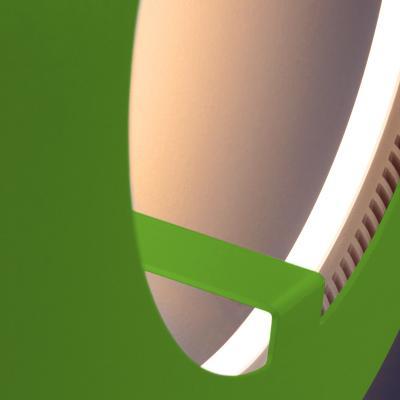 ABSOLUT CIRCLE Wandleuchte / Deckenleuchte grün