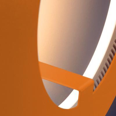 ABSOLUT CIRCLE Wandleuchte / Deckenleuchte orange