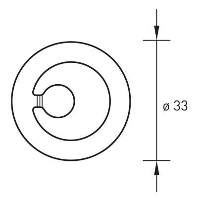 Technische Zeichnung Draufsicht