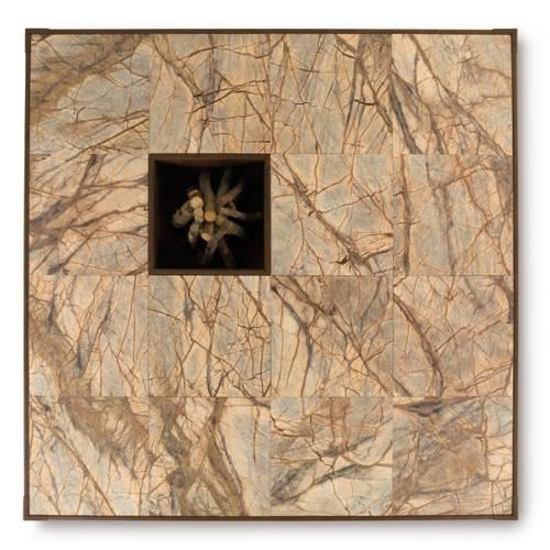 OPERA Feuerstelle 200 cm, mit Holz