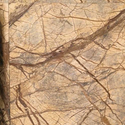 OPERA Feuerstelle 200 cm, Ausschnitt rainforest Muster