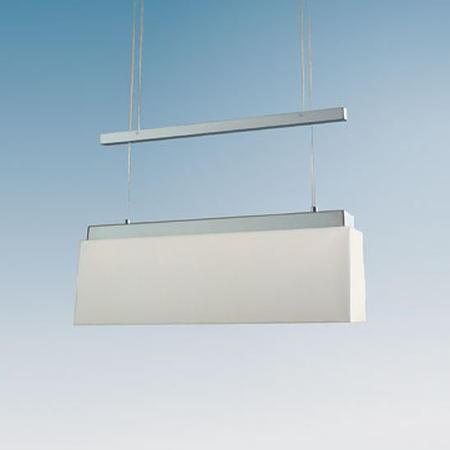 SAIGON Hängeleuchte 50 cm LED, Edelstahl matt