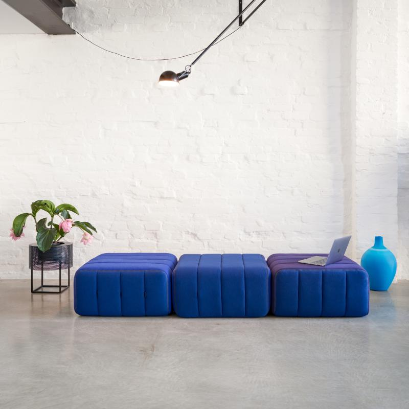CURT Sofa-System Sessel aus 3 Elementen, Gesamtbreite 204 cm