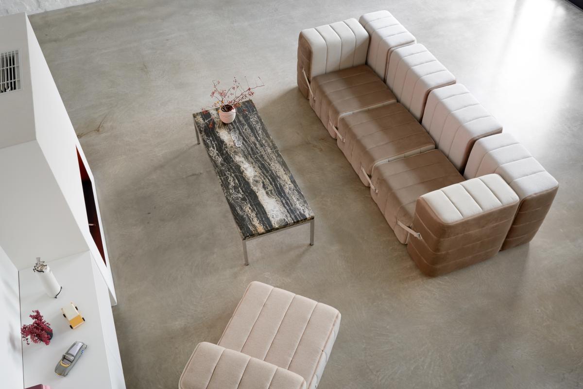 CURT Sofa-System Sessel 5 Elemente Bezug nach Wunsch