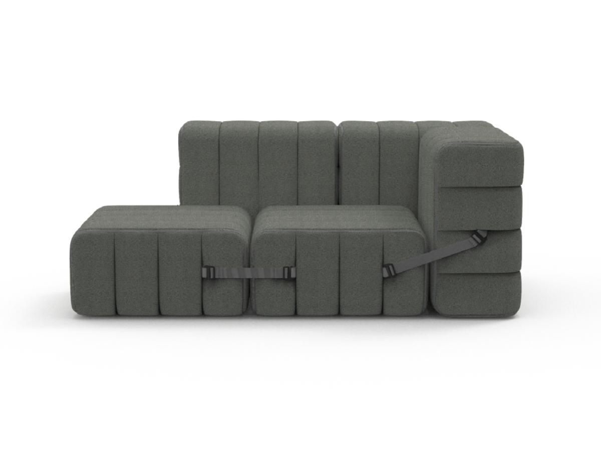 CURT Sofa-System 5 Elemente Bezug nach Wunsch