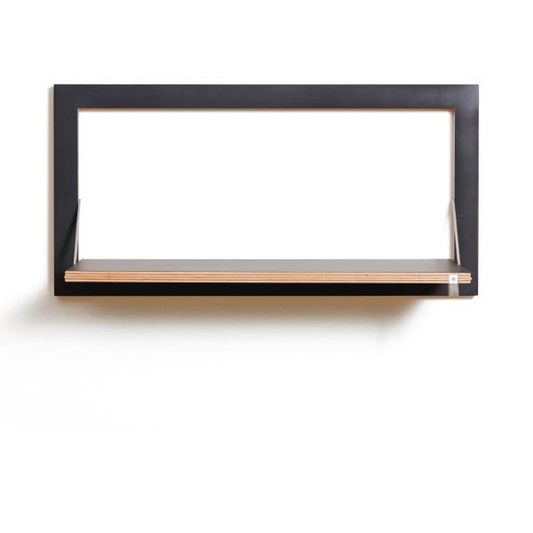 fl pps wandregal 80x40x1 von ambivalenz bei. Black Bedroom Furniture Sets. Home Design Ideas