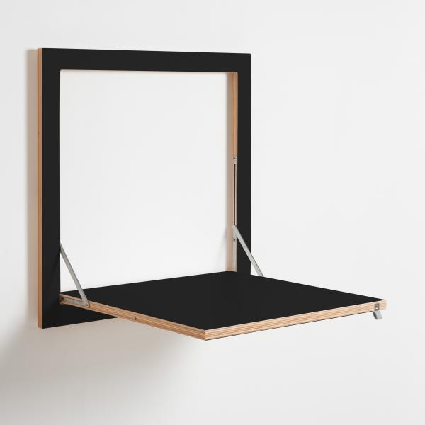 flpps kchentisch 60 x 60 cm klappbar schwarz - Kleiner Kuchentisch Klappbar