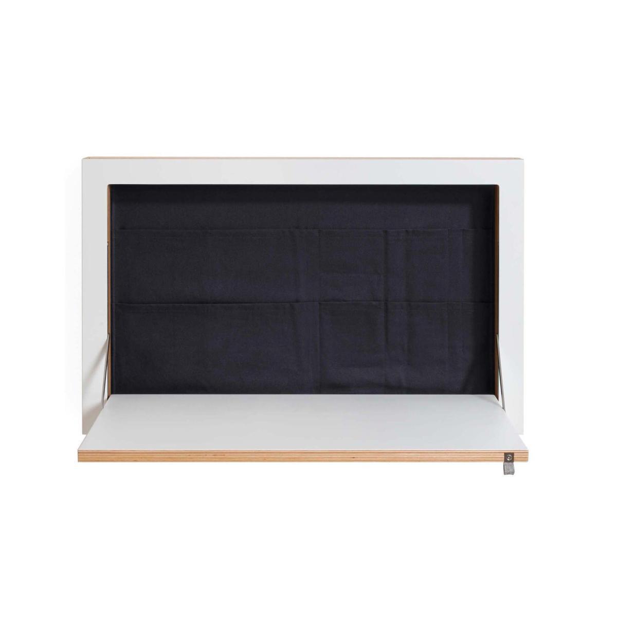 Fläpps Staatssekretär/in 80 x 50 cm, schwarz