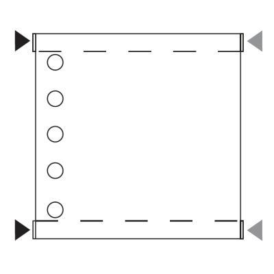 FLAT Standard-Anschluss [X] für Ventile