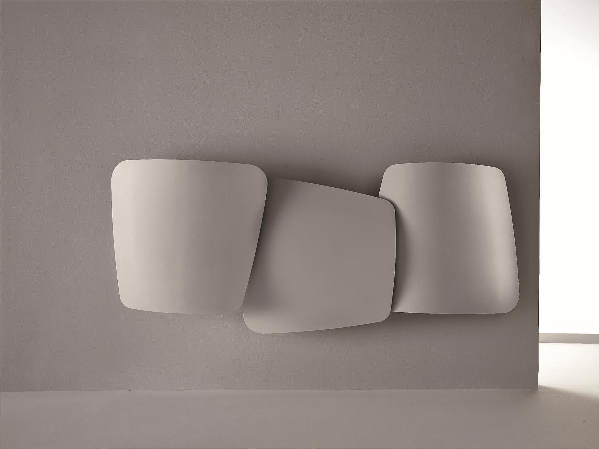 Antrax Design-Heizkörper SCUDI, horizontal, Warmwasser oder Elektrisch