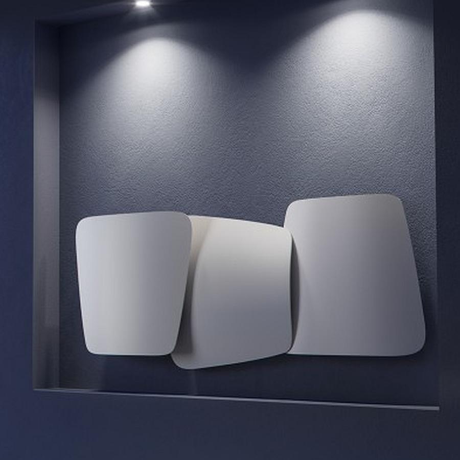 SCUDI Design-Heizkörper, Warmwasser, horizontal, 939 Watt, Ausführung nach Wahl