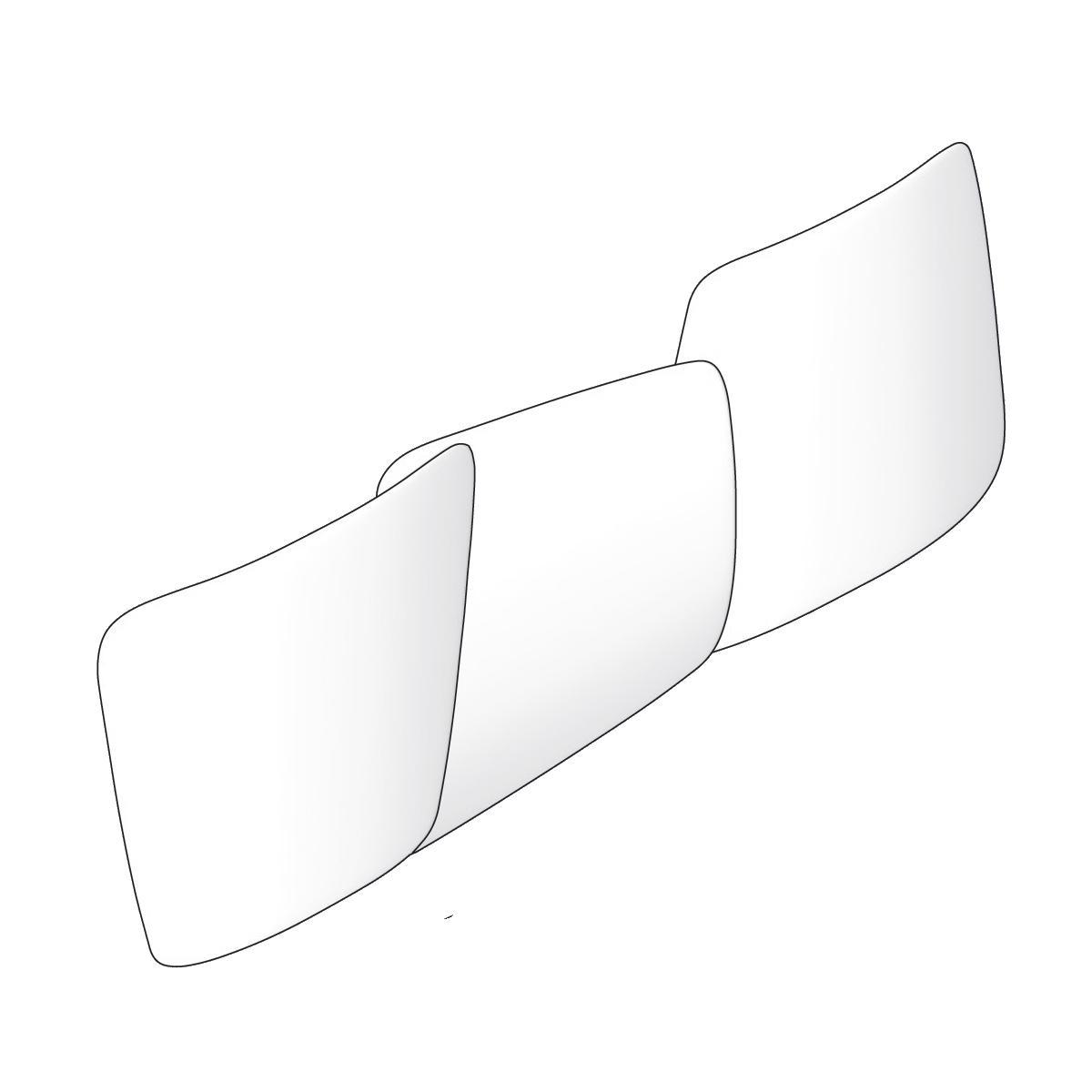Antrax Design-Heizkörper SCUDI horizontal, Warmwasser oder elektrisch