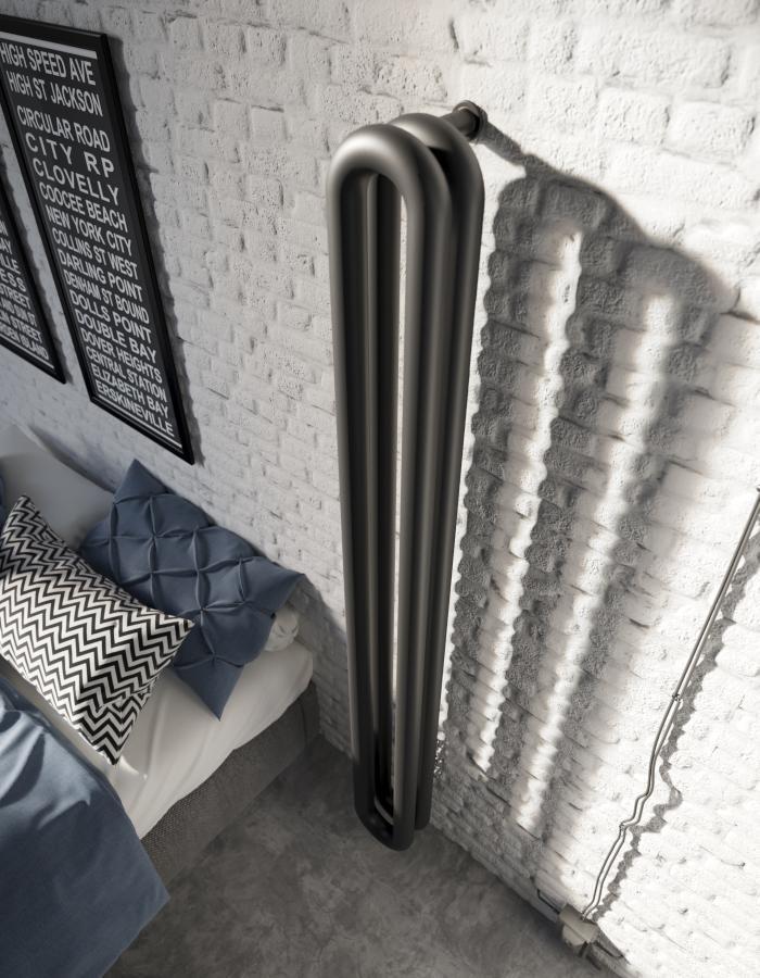 TUBONE VD, zwei Röhren doppelt voreinander mit hoher Heizleistung