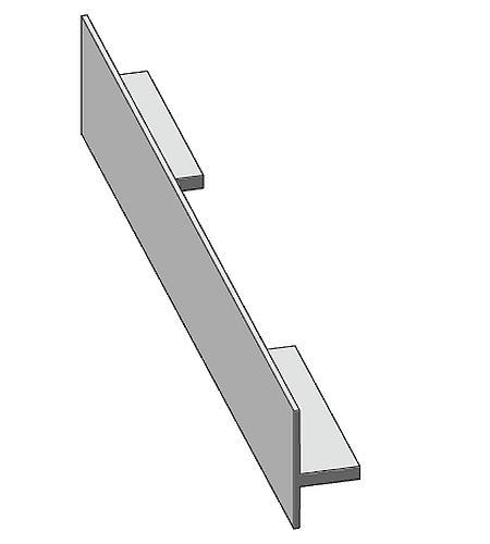 Antrax Design-Heizkörper SERIE T1P, Handtuchdurchlass mittig