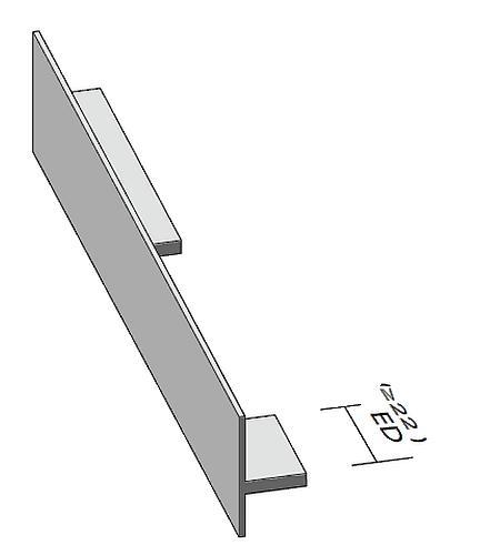 Antrax Design-Heizkörper SERIE T1P, Handtuchdurchlass rechts