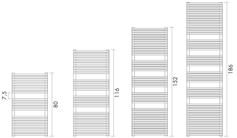 Antrax Design-Heizkörper H_20 Bath, Übersicht