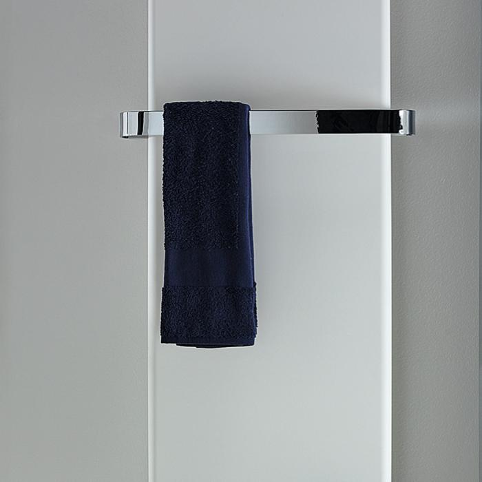 Antrax Design-Heizkörper TIF mit Handtuchstange Edelstahl poliert