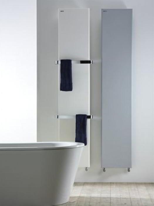 Antrax Design-Heizkörper TIF Bath (links) und TIF (rechts