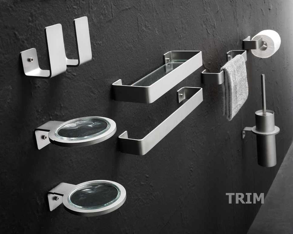 Zubehör für die Heizkörper-Serie TRIM von antrax