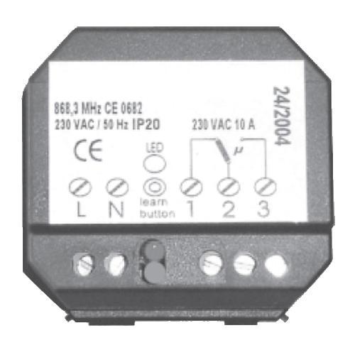 Original ANTRAX Reciever R10 für elektrische Heizkörper