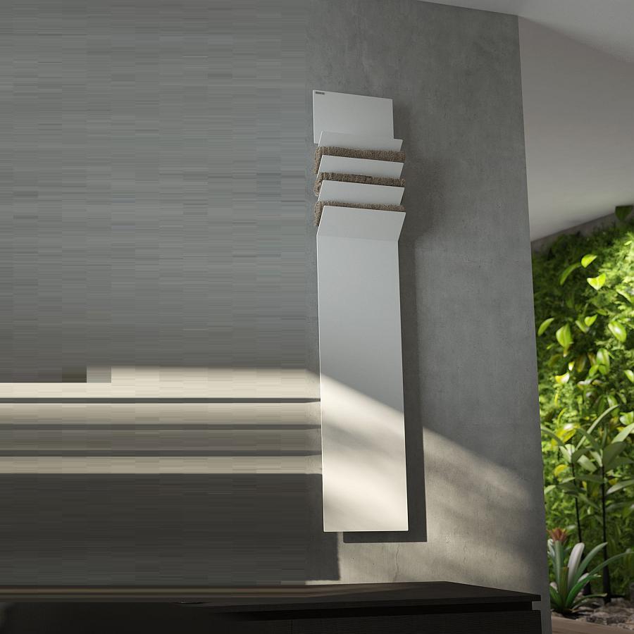 FLAPS A Design-Heizkörper Warmwasser, 171 cm, Farbe und Ausstattung nach Wahl
