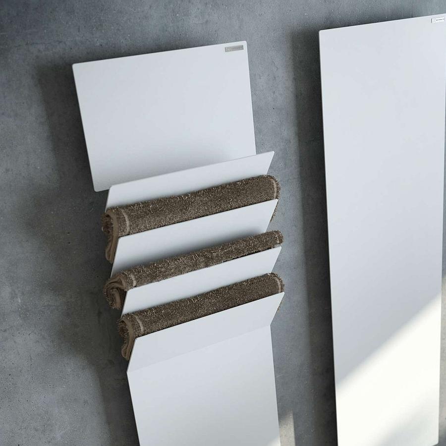 Antrax Design-Heizkörper FLAPS A, wärmt die Handtücher