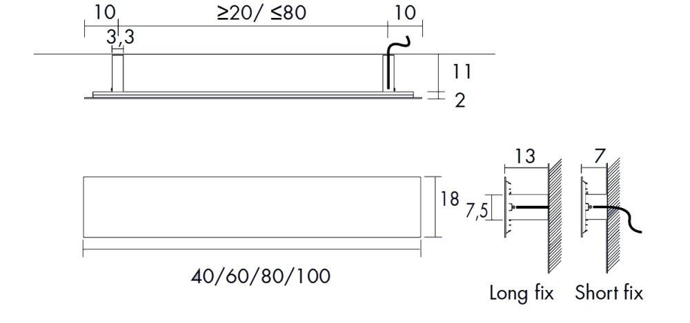 Die Details vom Antrax Design-Heizkörper TAVOLETTA