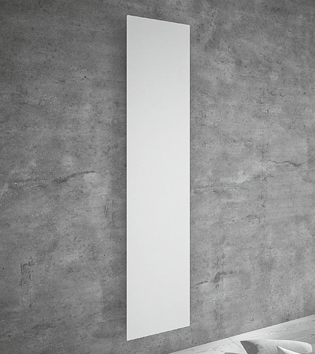 Tavola LISCIA vertikal, weiß lackiert, Wasser- oder Elektro-Anschluss