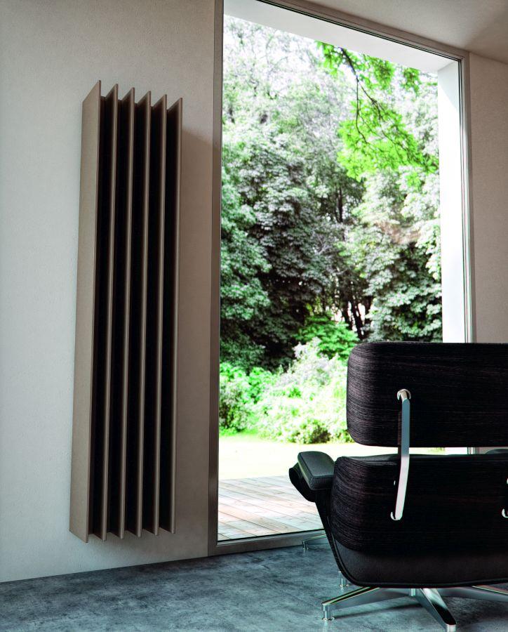 Antrax Design-Heizkörper TT von Matteo Thun, im Wohnzimmer