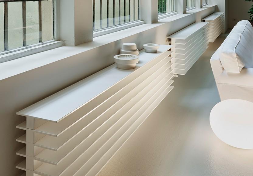heizk rper tt horizontal serie t von matteo thun. Black Bedroom Furniture Sets. Home Design Ideas