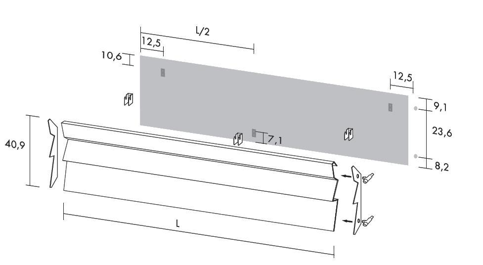 Antrax Design-Heizkörper ANDROID vertikal