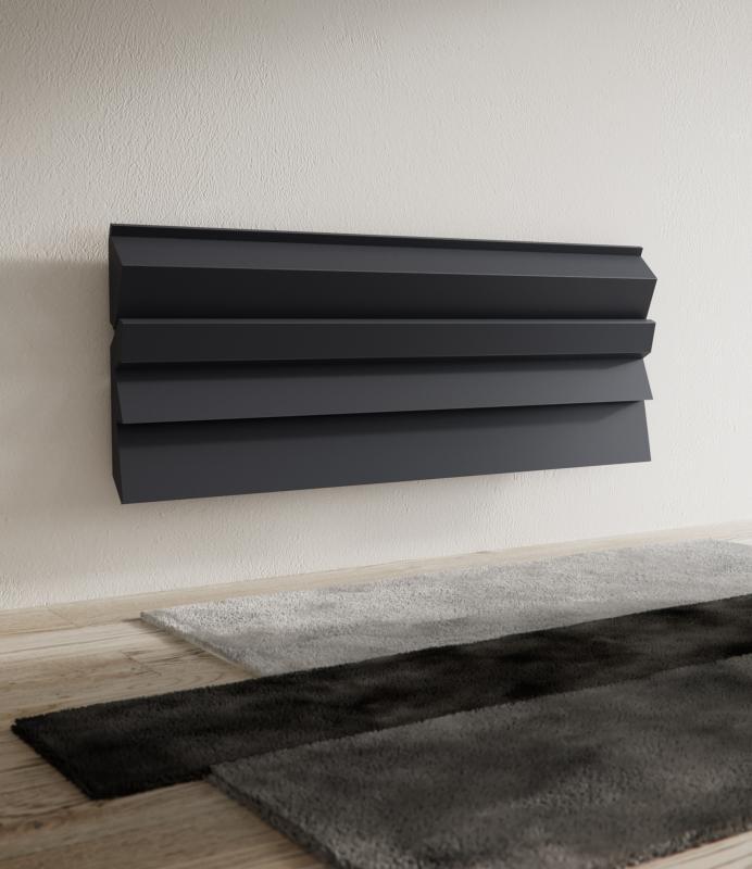 Antrax Design-Heizkörper ANDROID O3  horizontal, 61,8 cm hoch
