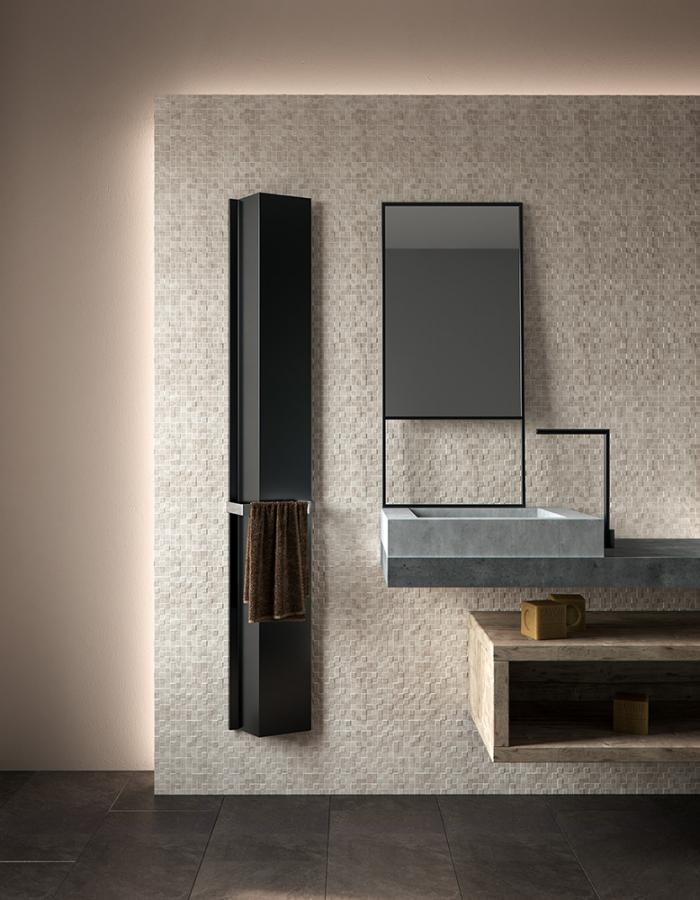 Antrax Design-Heizkörper ANDROID vertikal V1, 23,6 cm breit
