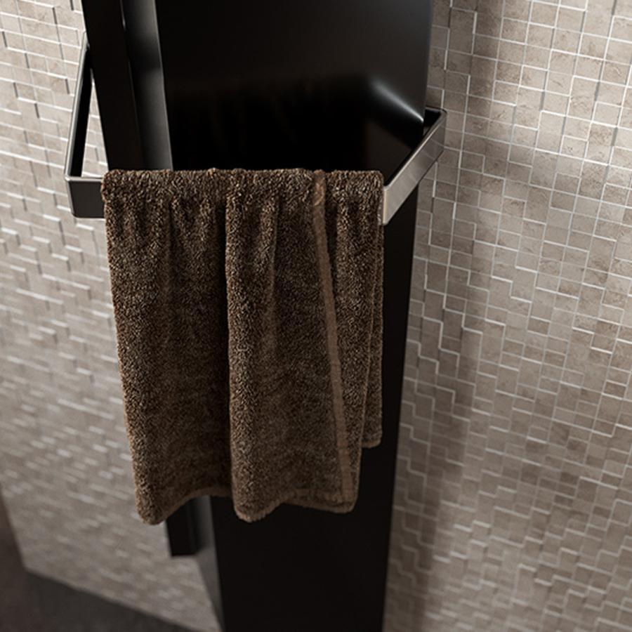 Antrax Design-Heizkörper ANDROID vertikal V1 mit Handtuchstange