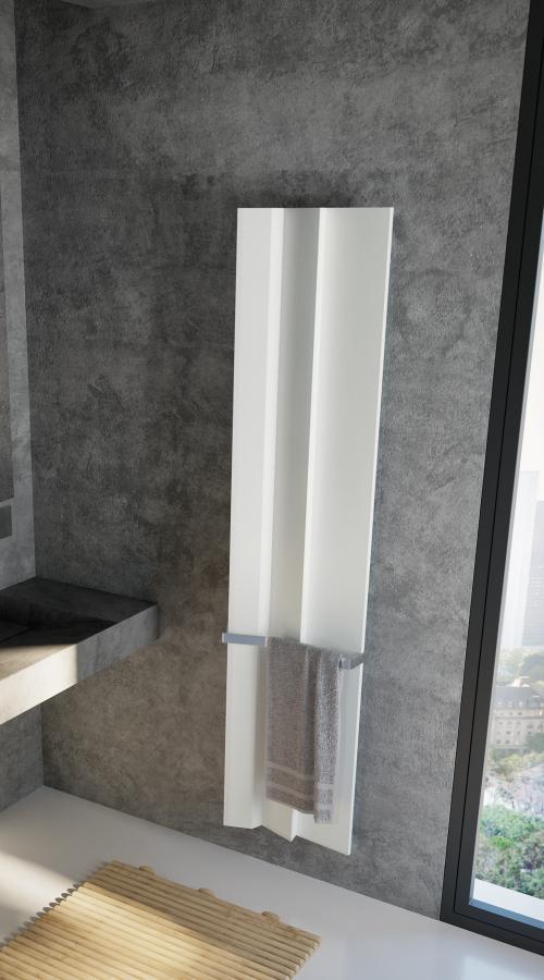 Antrax Design-Heizkörper ANDROID vertikal V2, 40,9 cm breit, in weiß