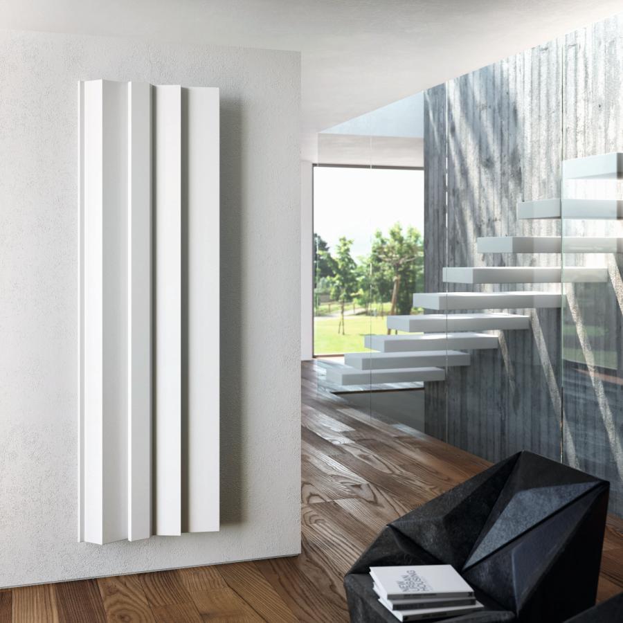 Antrax Design-Heizkörper ANDROID vertikal V3, 61,8  cm in weiß