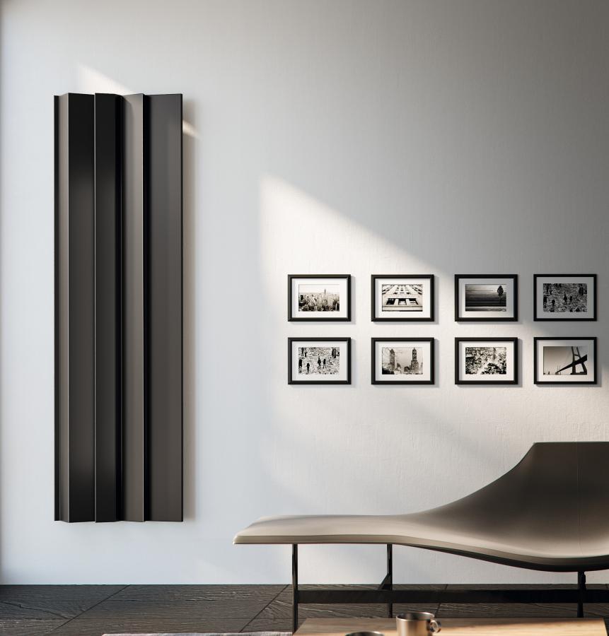 Antrax Design-Heizkörper ANDROID vertikal V3, 61,8  cm in braun