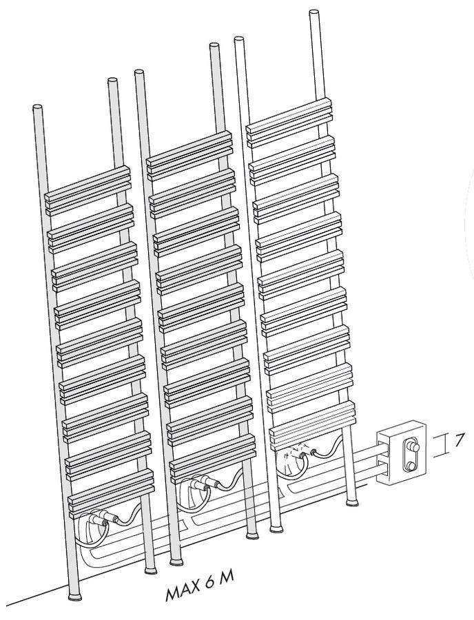 Details für extern installierte Ventile
