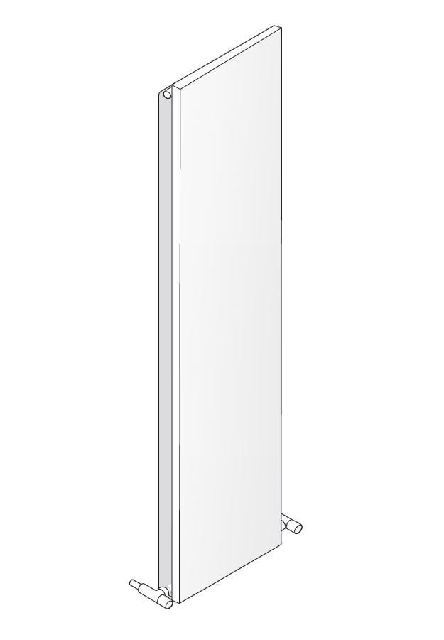 Antrax Design-Heizkörper TI_Q vertikal