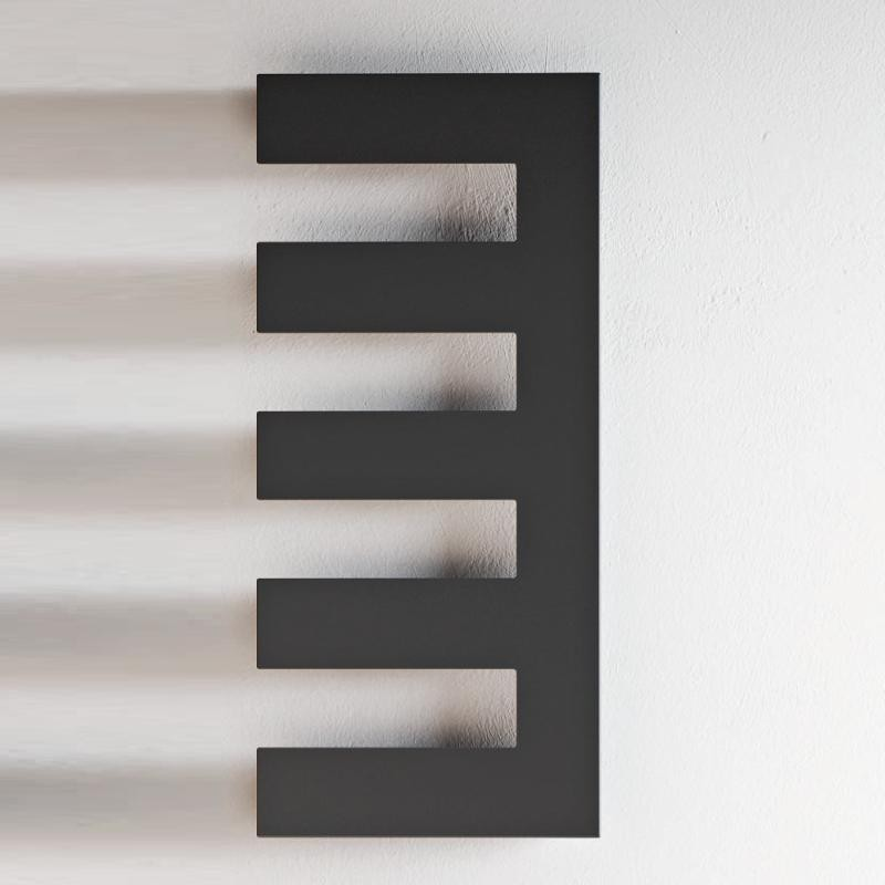 Antrax Design-Heizkörper PETTINE elektrisch, Anschluss rechts