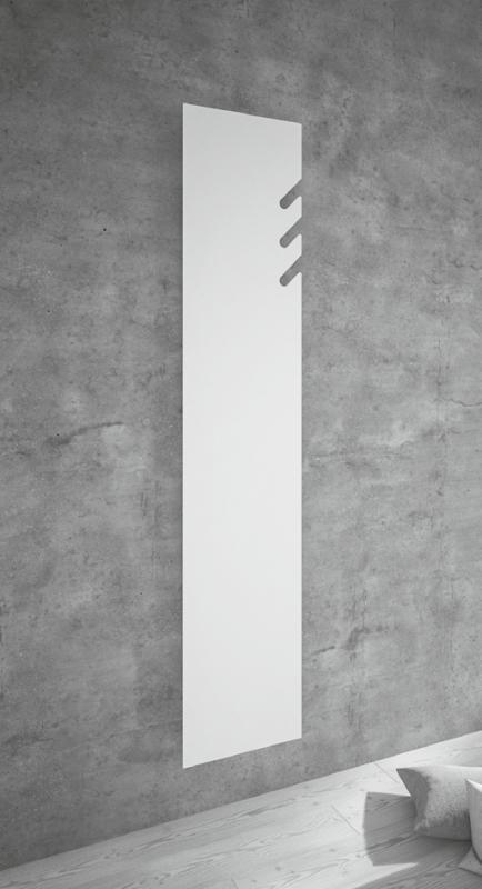 TAVOLA 3x SPACCHI Design-Heizkörper, Höhe 171 cm, weiß