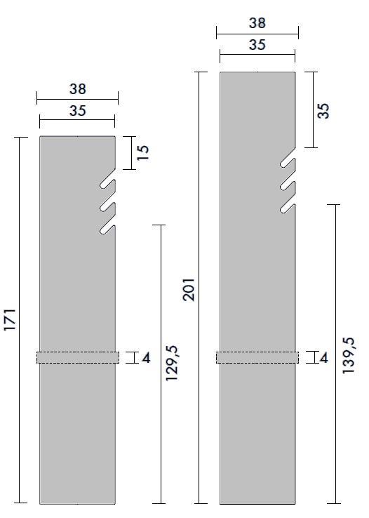 Details für Heizkörper Tavola SPACCHI