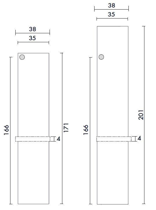 Antrax Design-Heizkörper Tavola Porta Accappatoio, Daten