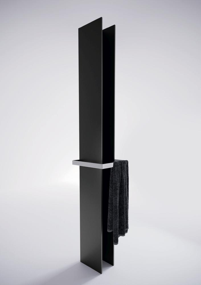 Antrax Design-Heizkörper T-TOWER, Warmwasser, mit Handtuchstange