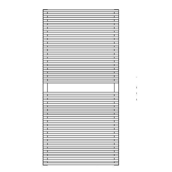 Antrax Design-Heizkörper PIENO Höhe 101 cm